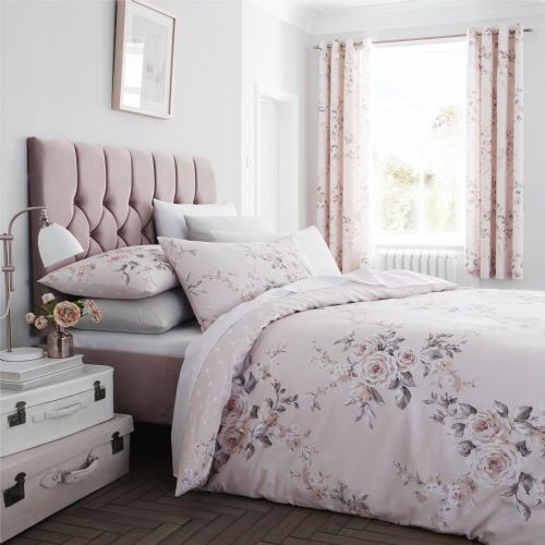 Catherine Lansfield Canterbury Blush Bedding Set